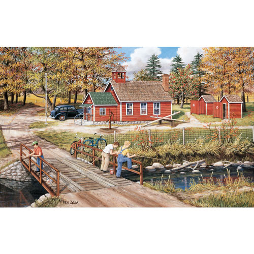 School Holiday 550 Piece Jigsaw Puzzle