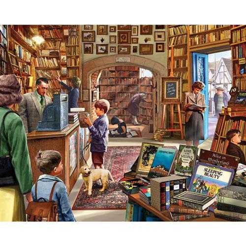 Cozy Book Shop 300 Large Piece Jigsaw Puzzle