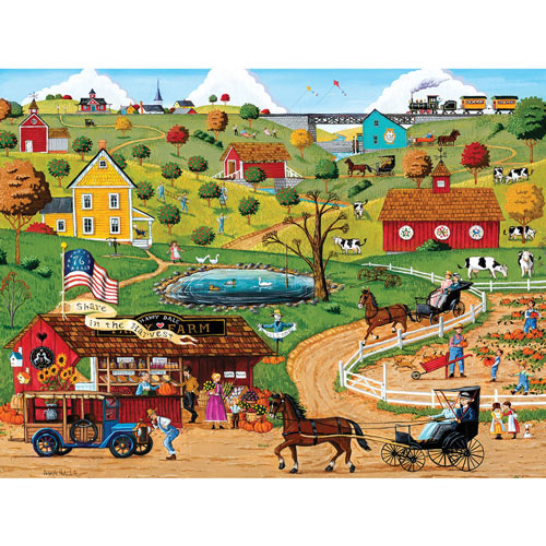 Share in the Harvest 300 Large Piece Jigsaw Puzzle