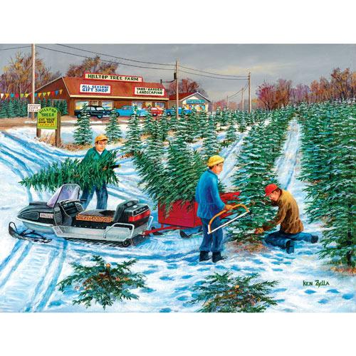 Seasonal Harvest 300 Large Piece Jigsaw Puzzle