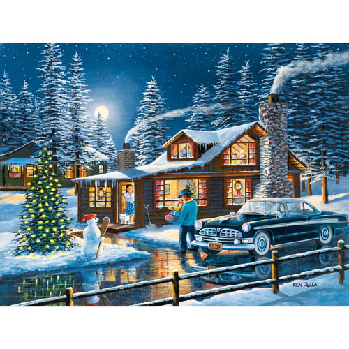 Magic in the Night 300 Large Piece Jigsaw Puzzle