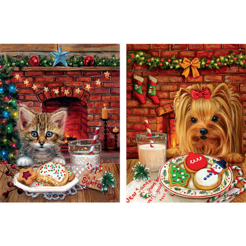 Set of 2: Brooke Faulder 300 Large Piece Jigsaw Puzzle