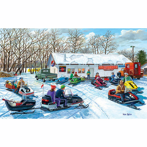 Red Lake Rendezvous 550 Piece Jigsaw Puzzle