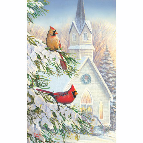 Seasonal Friends 300 Large Piece Jigsaw Puzzle