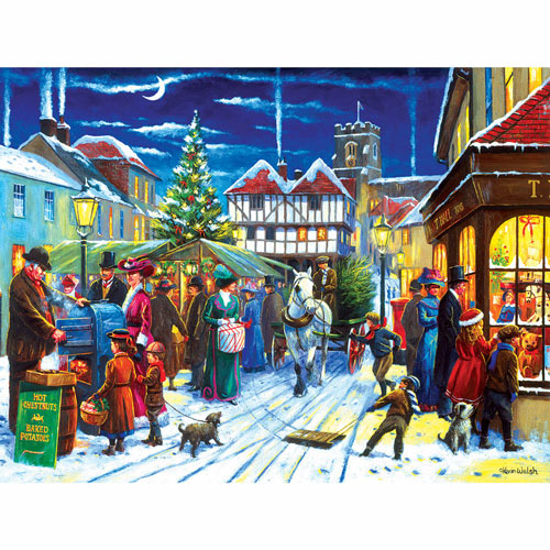 Winter Market 1000 Piece Jigsaw Puzzle