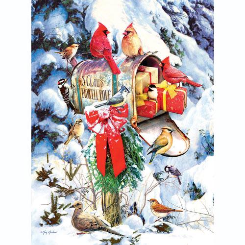 Santa's Mailbox 300 Large Piece Jigsaw Puzzle