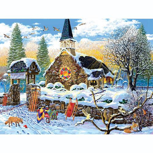 Children's Choir 300 Large Piece Jigsaw Puzzle