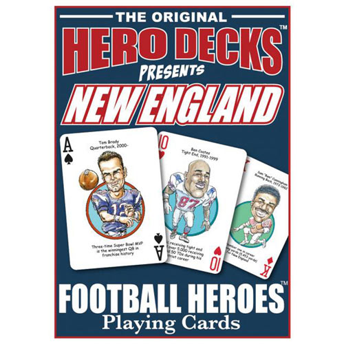 Patriots- Football Heroes Playing Cards