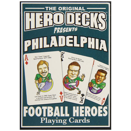 Eagles- Football Heroes Playing Cards
