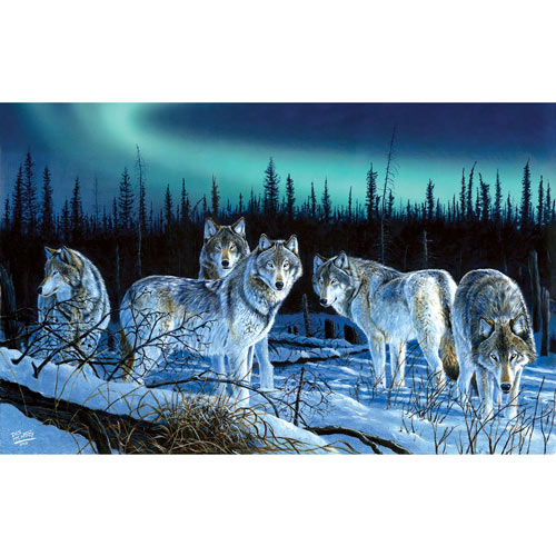Hunter's Light 550 Piece Jigsaw Puzzle