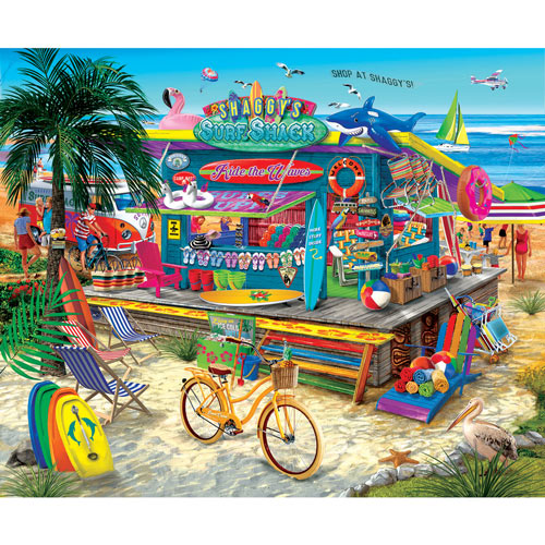 Shaggy's Surf Shack 300 Large Piece Jigsaw Puzzle