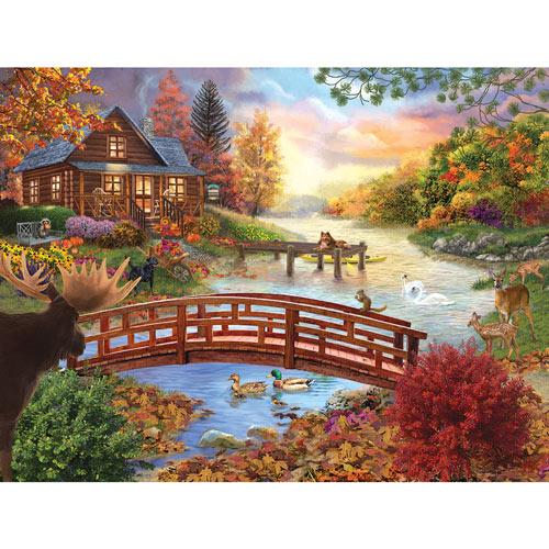 Autumn Evening 300 Large Piece Jigsaw Puzzle