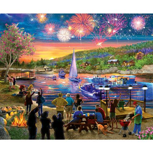 Summer Fireworks 1000 Piece Jigsaw Puzzle