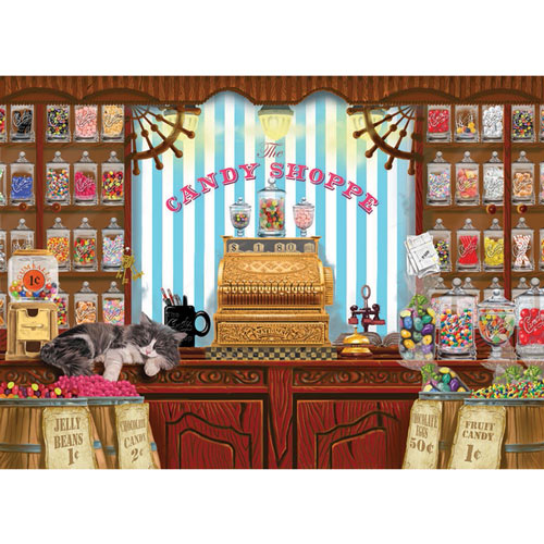 Sweets for Sale 1000 Piece Jigsaw Puzzle