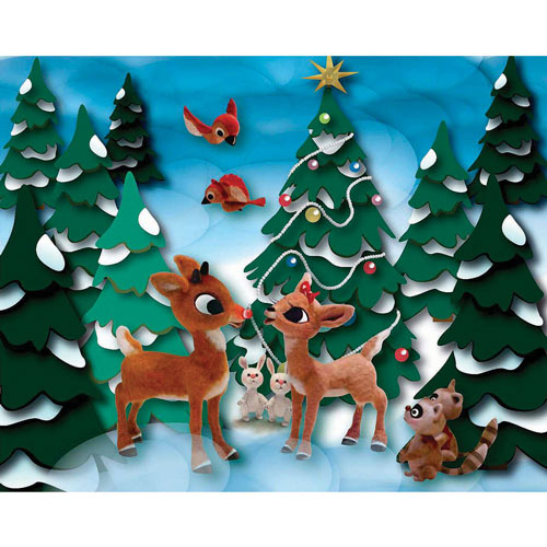 Rudolph and Clarice 300 Large Piece Jigsaw Puzzle
