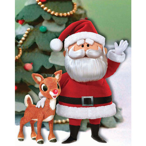 Santa and Rudolph 300 Large Piece Jigsaw Puzzle