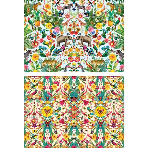Set of 2: Masterpieces Kaleidoscope 1000 Piece Jigsaw Puzzle