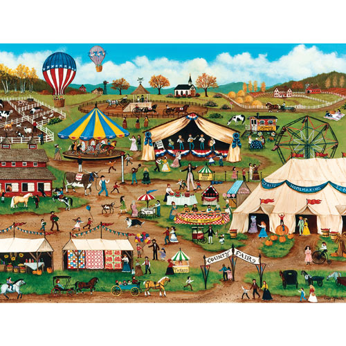 Country Fair 750 Piece Jigsaw Puzzle