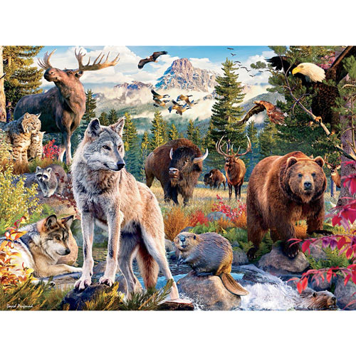 American Animals 1000 Piece Jigsaw Puzzle