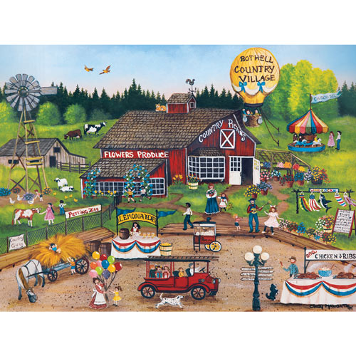 Country Pickens 750 Piece Jigsaw Puzzle
