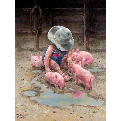 Mud Babies 500 Piece Western Jigsaw Puzzle