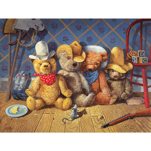 The Wild Bunch 500 Piece Western Jigsaw Puzzle