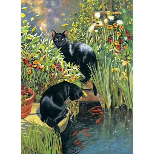 Riley and Diana 1000 Piece Jigsaw Puzzle
