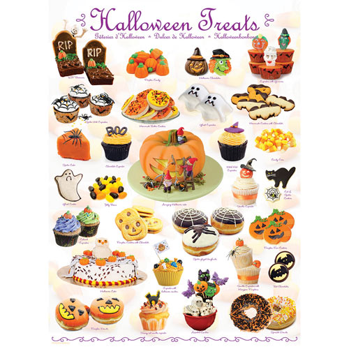 Halloween Treats 1000 Piece Jigsaw Puzzle