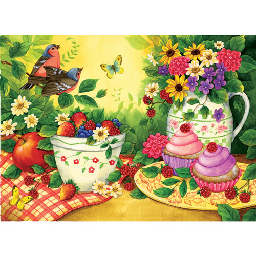 Cupcakes for Two 500 Piece Jigsaw Puzzle