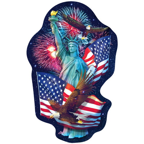 Freedom's Light 900 Piece Shaped Jigsaw Puzzle