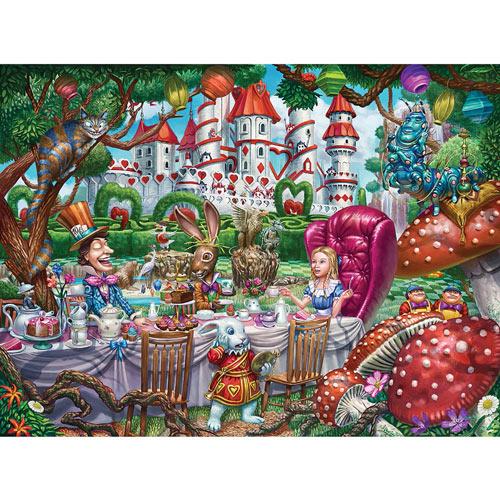 Alice in Wonderland 1000 Piece Jigsaw Puzzle