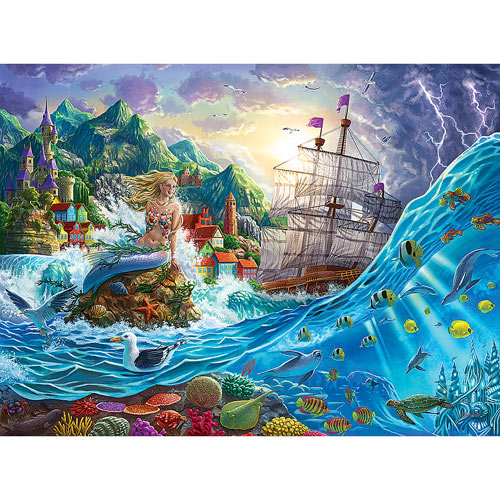 The Little Mermaid 1000 Piece Jigsaw Puzzle