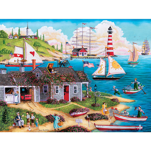 Painter's Point 300 Large Piece Jigsaw Puzzle