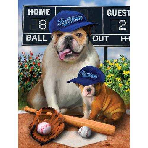 Play Ball 300 Large Piece Jigsaw Puzzle