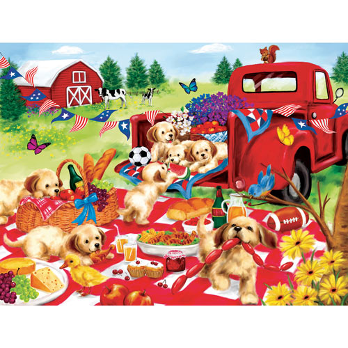 Tailgating 300 Large Piece Jigsaw Puzzle
