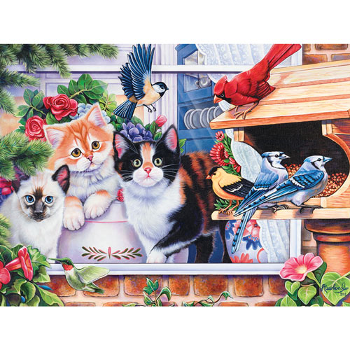 Family Hour - Springtime Wonders 400 Piece Jigsaw Puzzle