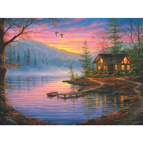 Morning Mist 300 Large Piece Jigsaw Puzzle