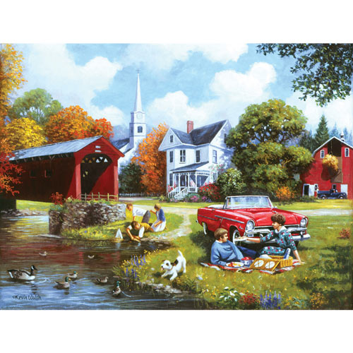 Lazy Days 300 Large Piece Jigsaw Puzzle