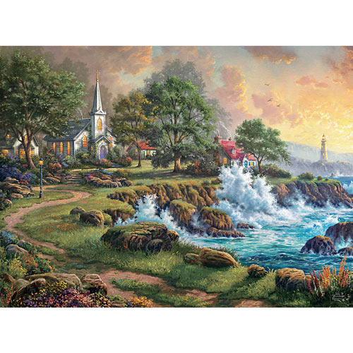 Seaside Haven 1000 Piece Jigsaw Puzzle