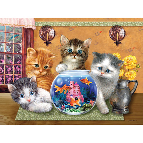 Anyone Looking? 300 Large Piece Jigsaw Puzzle
