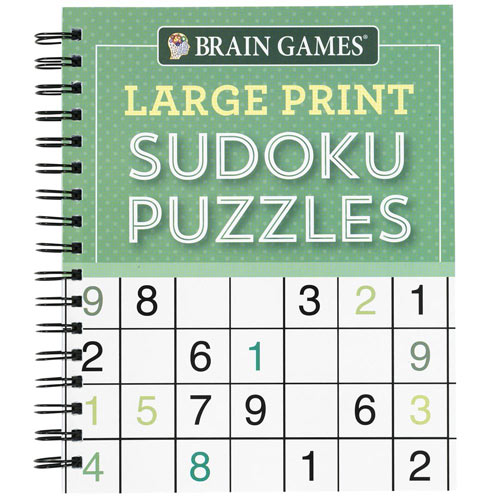 Large Print Puzzle Book: Sudoku