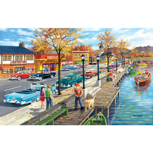 Shoreview Drive 300 Large Piece Jigsaw Puzzle