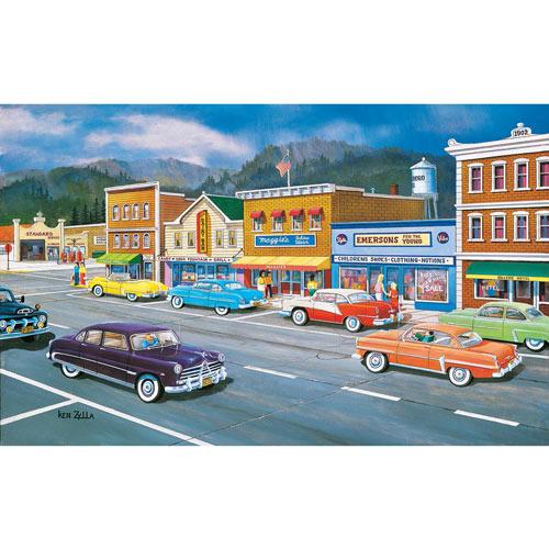 Main Street Memories 300 Large Piece Jigsaw Puzzle