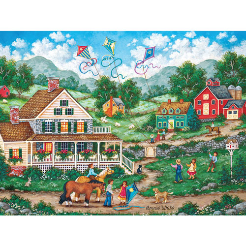 Crosswinds 300 Large Piece Jigsaw Puzzle