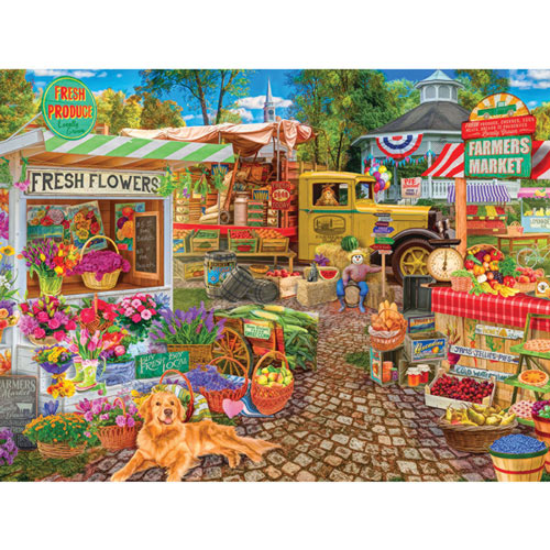 Sale on the Square 300 Large Piece Jigsaw Puzzle
