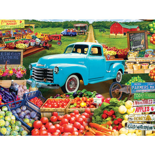 Locally Grown 300 Large Piece Jigsaw Puzzle