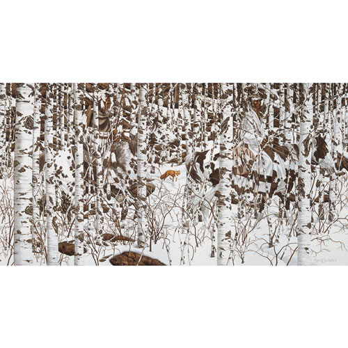 Woodland Encounter 1000 Piece Jigsaw Puzzle
