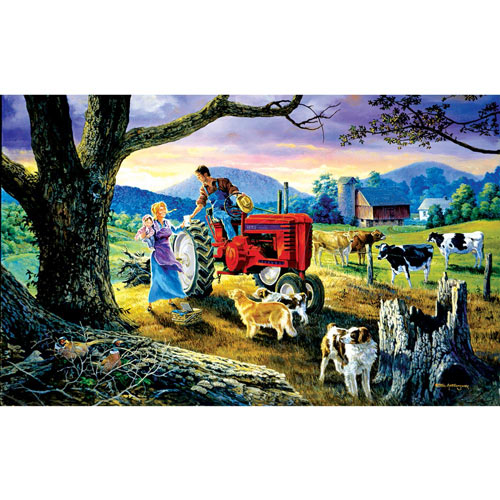 Tie a Yellow Ribbon 300 Large Piece Jigsaw Puzzle