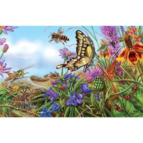 Prairie Spread 300 Large Piece Jigsaw Puzzle