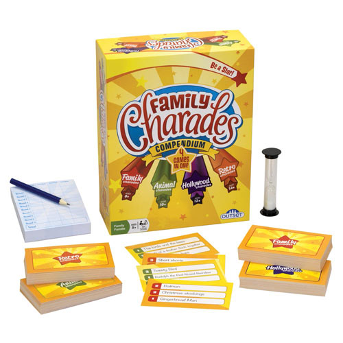 Family Charades Compendium Game
